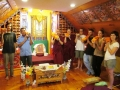 37 Group bringing Kangyur to gompa