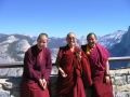 6 With Rinpoche and Alok at Glacier Peak Vista
